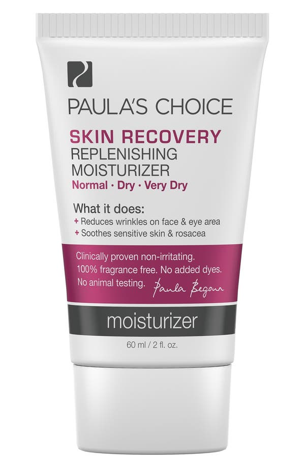 Skin Recovery Replenishing Moisturizer,                         Main,                         color, No Color