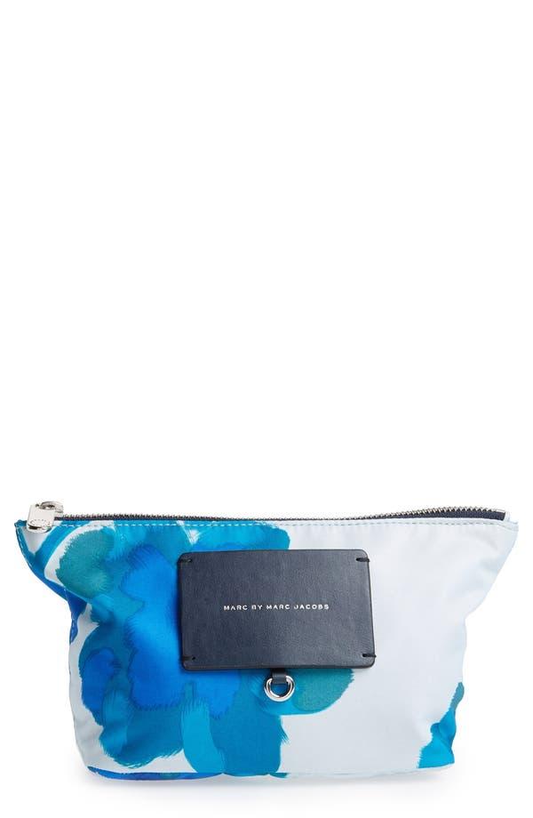 MARC BY MARC JACOBS 'Preppy Legend - Perfect' Pouch,                         Main,                         color, Cloud Blue Multi