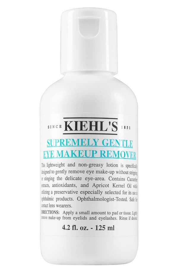Main Image - Kiehl's Since 1851 Supremely Gentle Eye Make-Up Remover
