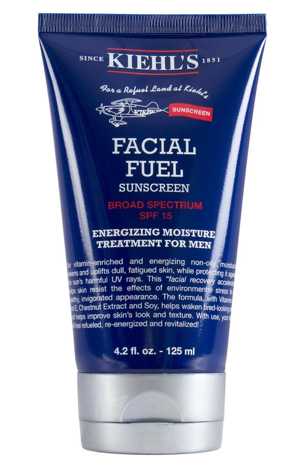 'Facial Fuel' Energizing Moisture Treatment for Men SPF 15,                         Main,                         color, No Color