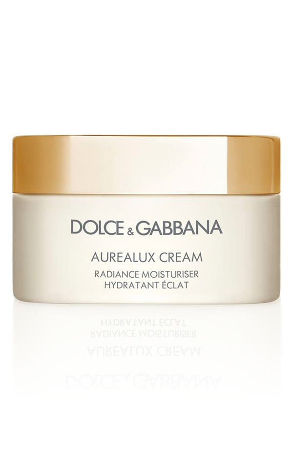 Alternate Image 1 Selected - Dolce&Gabbana Beauty 'Aurealux' Cream Radiance Moisturizer