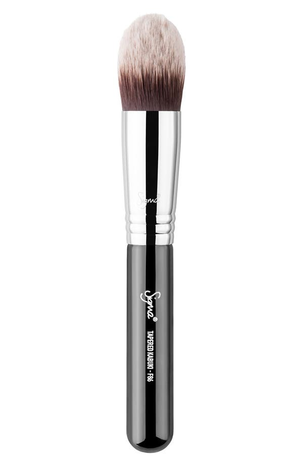 F86 Tapered Kabuki<sup>™</sup> Brush,                         Main,                         color, No Color