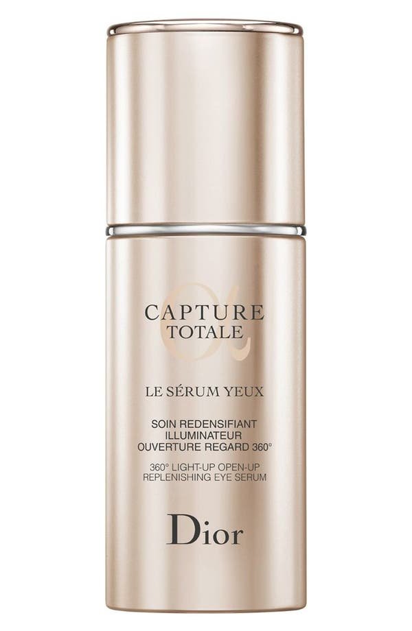 'Capture Totale' 360° Light-Up Open-Up Replenishing Eye serum,                             Main thumbnail 1, color,                             No Color