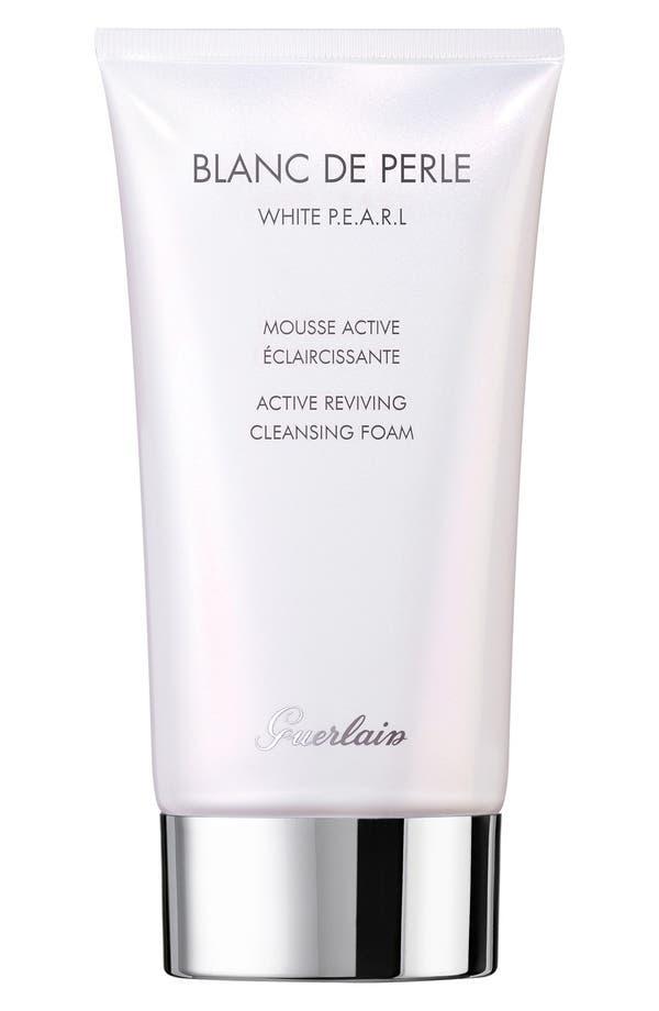Alternate Image 1 Selected - Guerlain 'Blanc de Perle' Active Reviving Cleansing Foam