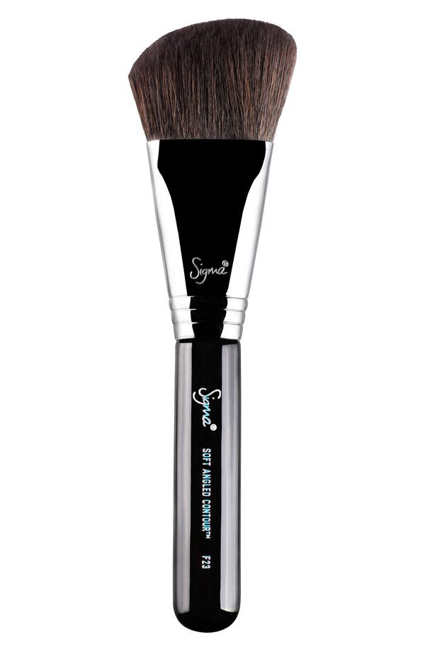 F23 Soft Angled Contour<sup>™</sup> Brush,                             Main thumbnail 1, color,                             No Color