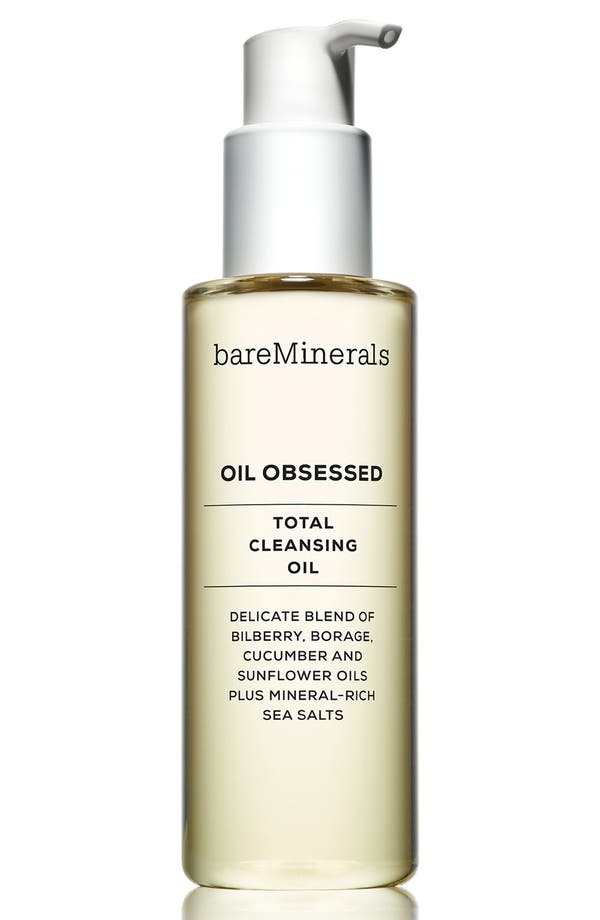 Alternate Image 1 Selected - bareMinerals® 'Oil Obsessed' Total Cleansing Oil