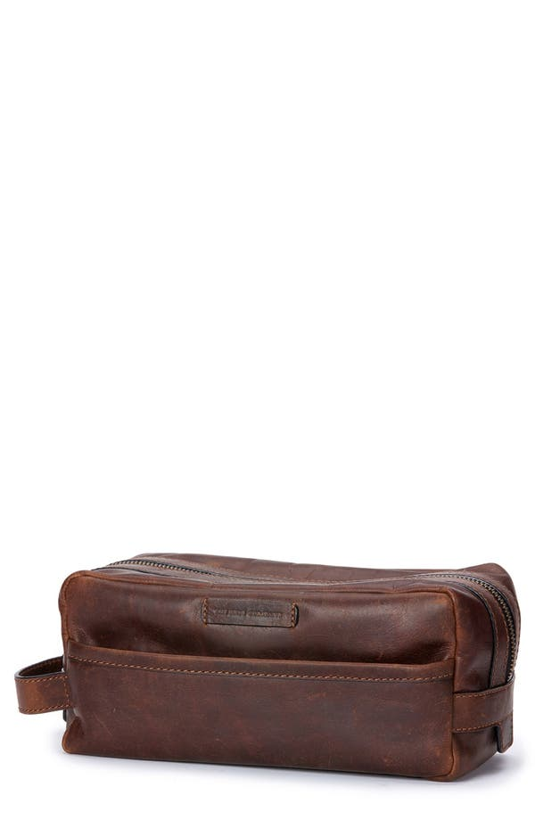 FRYE Logan Leather Travel Kit