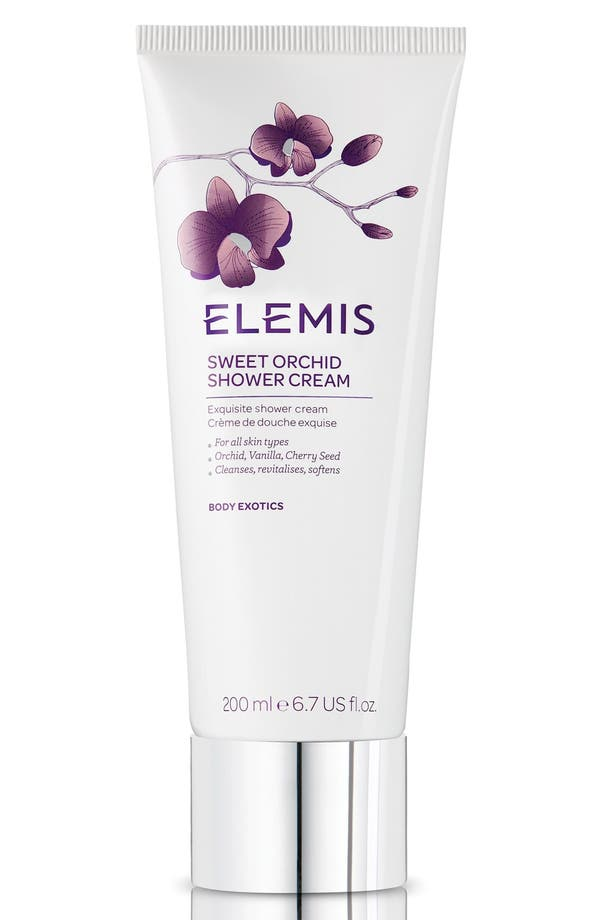 Sweet Orchid Shower Cream,                             Main thumbnail 1, color,                             No Color
