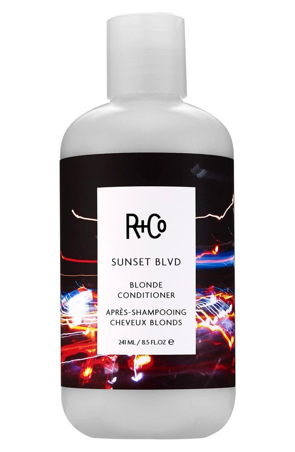 Main Image - SPACE.NK.apothecary R+Co Sunset Blvd Blonde Conditioner