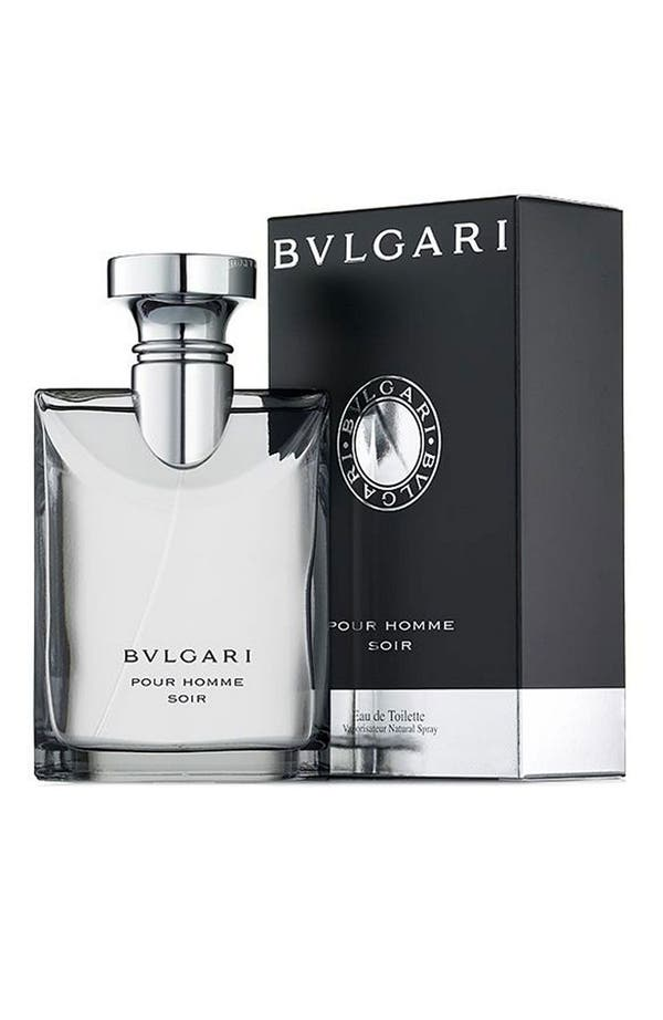 Alternate Image 1 Selected - BVLGARI pour Homme 'Soir' Eau de Toilette Spray