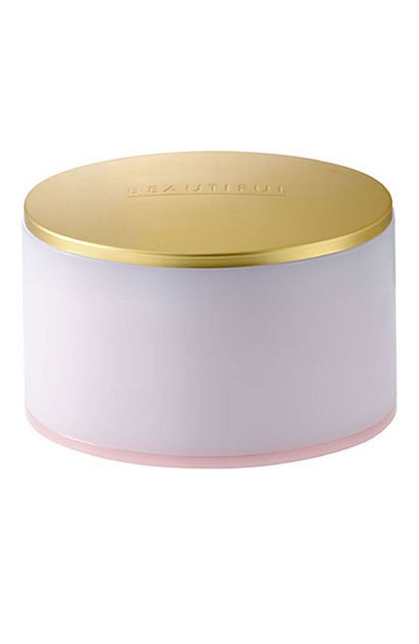 Beautiful Perfumed Body Powder with Puff,                         Main,                         color,