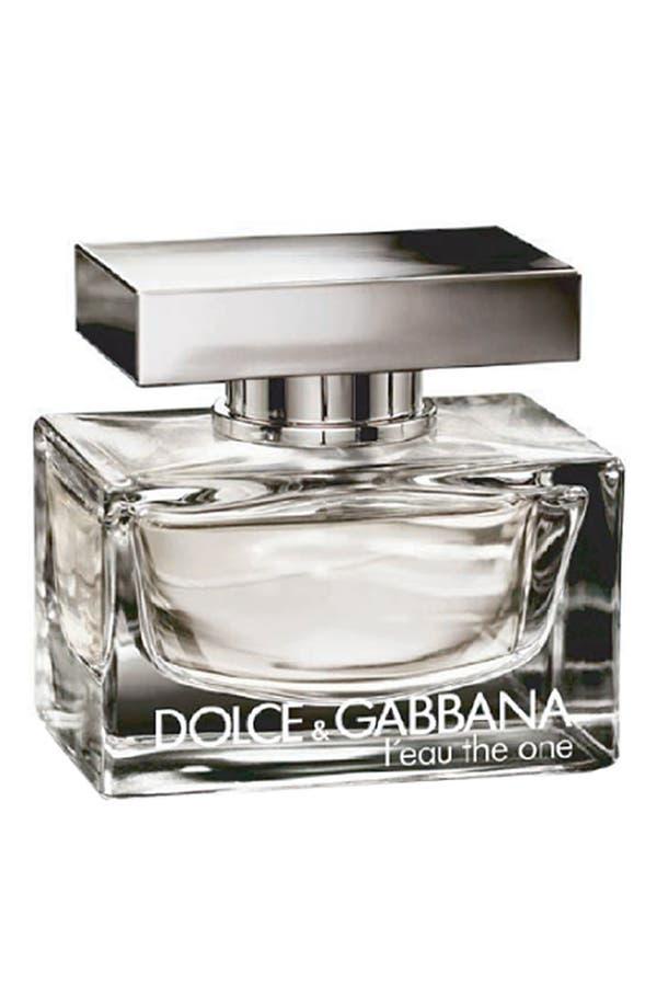 Alternate Image 1 Selected - Dolce&Gabbana Beauty 'L'eau The One' Eau de Toilette