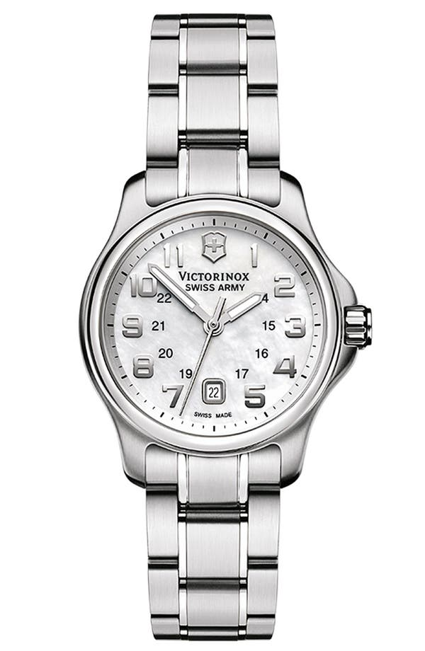 Alternate Image 1 Selected - Victorinox Swiss Army® 'Officers - Extra Small' Watch, 28mm