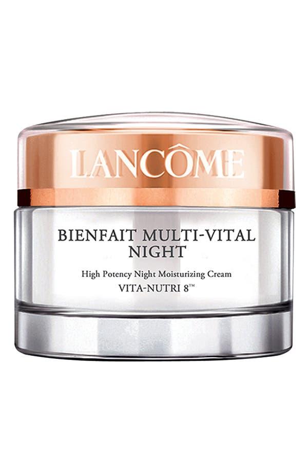 Alternate Image 1 Selected - Lancôme Bienfait Multi-Vital Night Cream