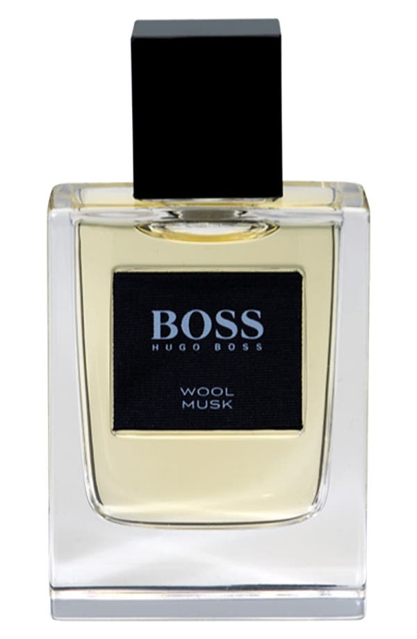 Main Image - BOSS 'The Collection - Wool Musk' Eau de Toilette (Nordstrom Exclusive)