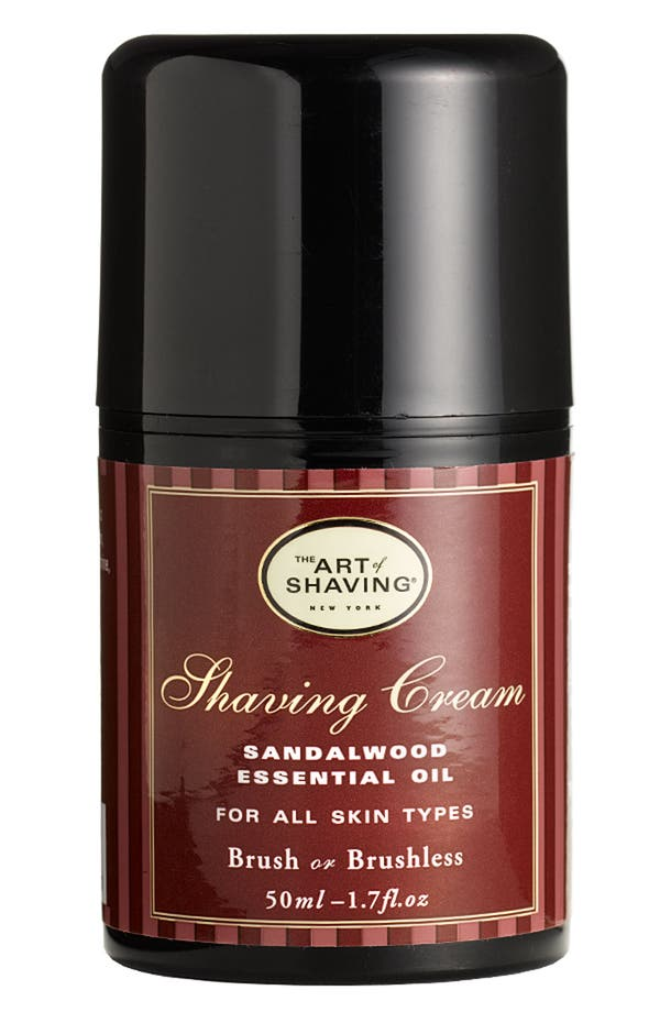 Alternate Image 1 Selected - The Art of Shaving® Pump Shaving Cream with Sandalwood Essential Oil