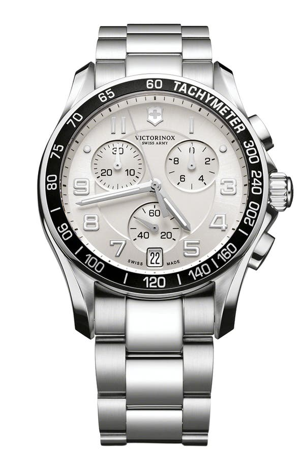 Main Image - Victorinox Swiss Army® 'Chrono Classic' Bracelet Watch, 41mm