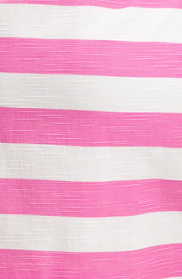 Alternate Image 3  - kate spade new york 'silverscreen' stripe bow front dress