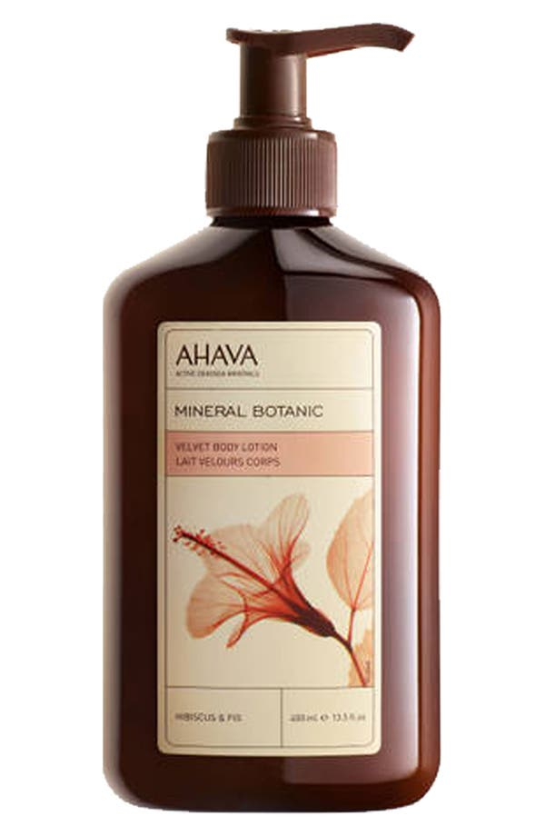 Alternate Image 1 Selected - AHAVA ' Mineral Botanic Hibiscus & Fig' Body Lotion