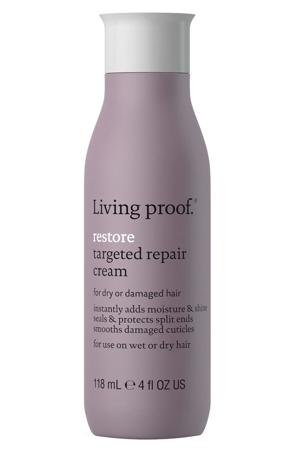 Alternate Image 1 Selected - Living proof® 'Restore' Targeted Repair Hair Cream