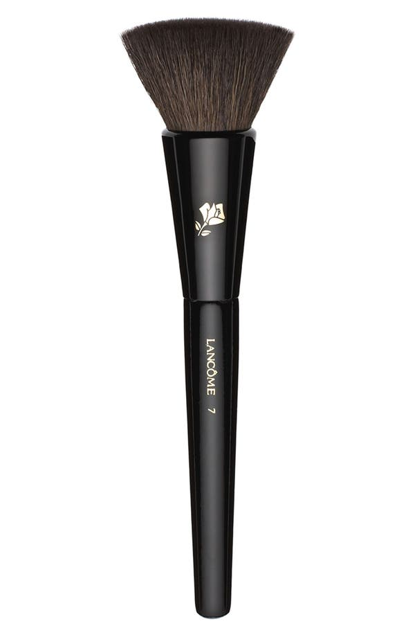 Alternate Image 1 Selected - Lancôme Natural and Flat-Bristled Blush Brush