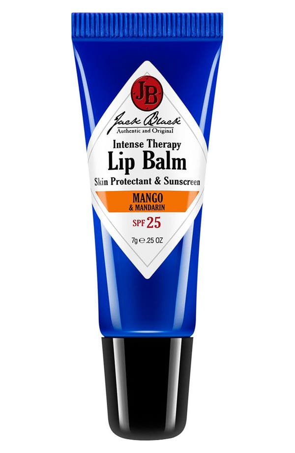 Alternate Image 1 Selected - Jack Black 'Intense Therapy - Mango & Mandarin' Lip Balm SPF 25