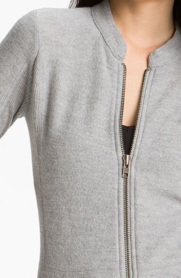 Alternate Image 3  - Halogen® Boiled Wool Peplum Jacket
