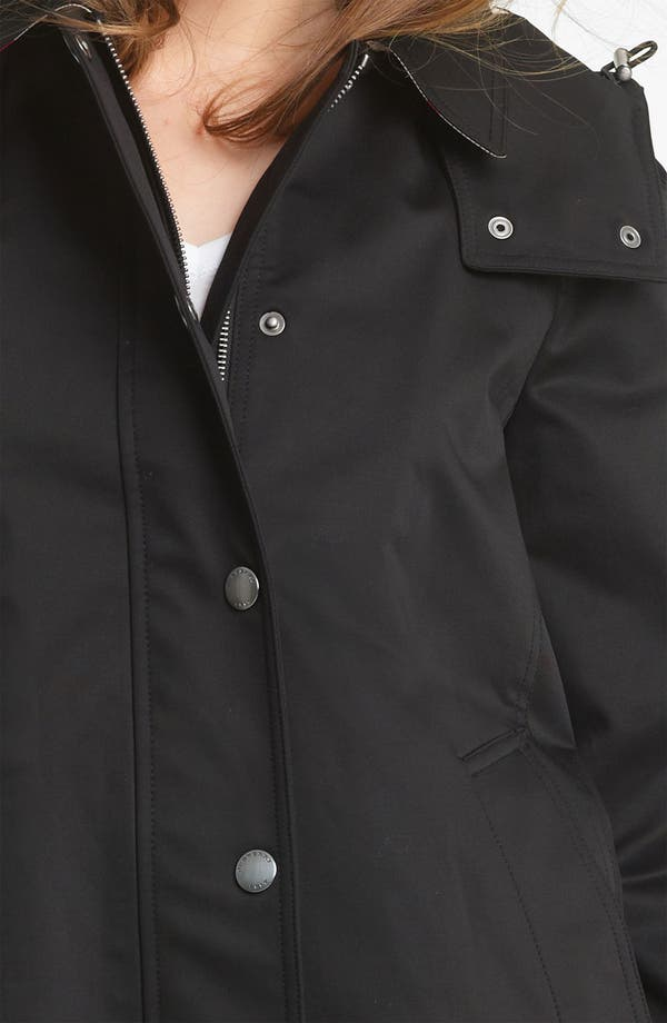 Alternate Image 4  - Burberry Brit 'Bowpark' Raincoat with Liner