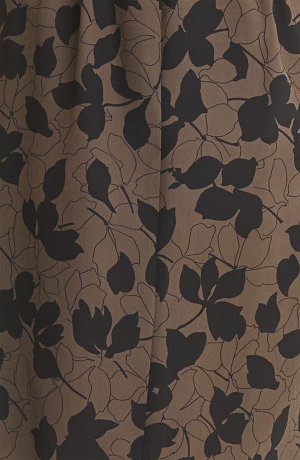 Alternate Image 3  - Nina Ricci 'Camo Fleur' Print Silk Crepe Dress
