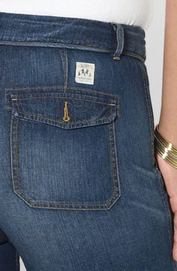 Alternate Image 3  - Lauren Ralph Lauren Drawstring Waist Jeans (Plus)
