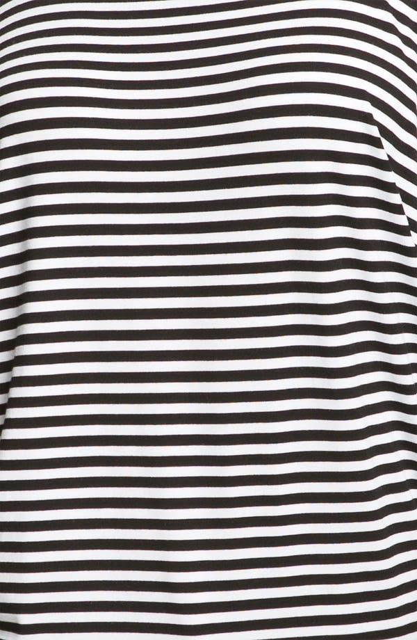 Alternate Image 3  - MICHAEL Michael Kors Stripe Cold Shoulder Top