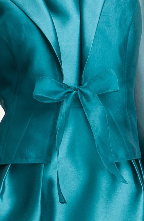 Alternate Image 4  - Alex Evenings Square Neck Sheath Dress & Jacket