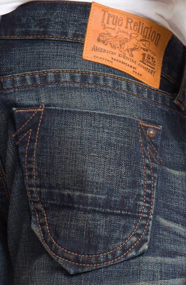 Alternate Image 4  - True Religion Brand Jeans 'Geno' Slim Straight Leg Jeans (Snyper)