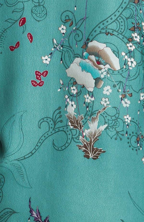 Alternate Image 3  - Citron Print Silk Jacket (Plus)