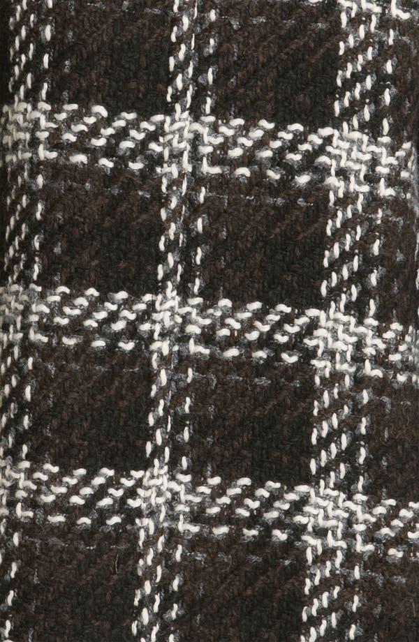 Alternate Image 3  - 1 Madison Wing Collar Plaid Coat