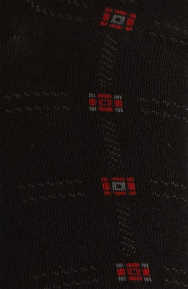 Alternate Image 2  - BOSS Black Grid Socks