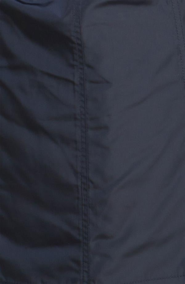Alternate Image 3  - Steve Madden Puff Collar Belted Coat