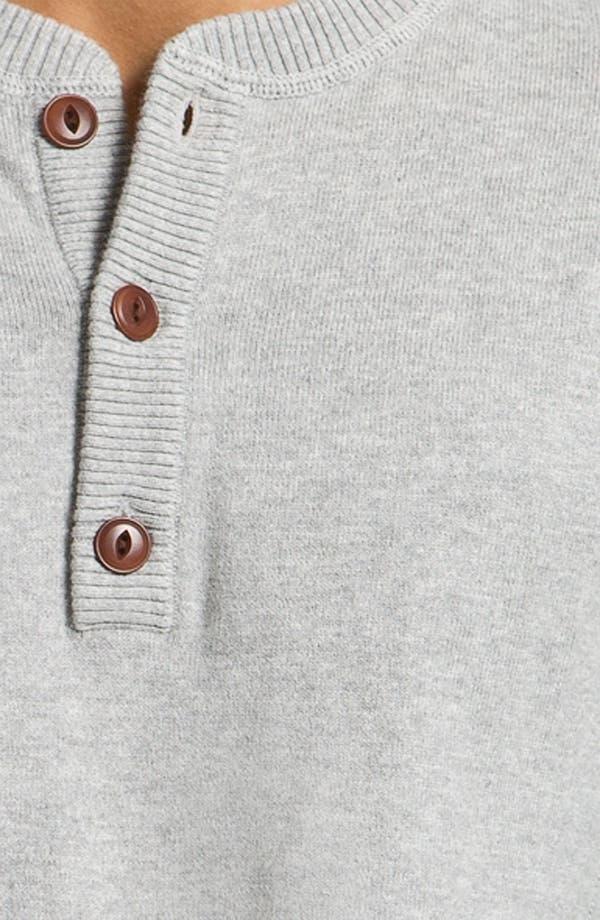 Alternate Image 3  - Façonnable Cotton & Cashmere Knit Henley