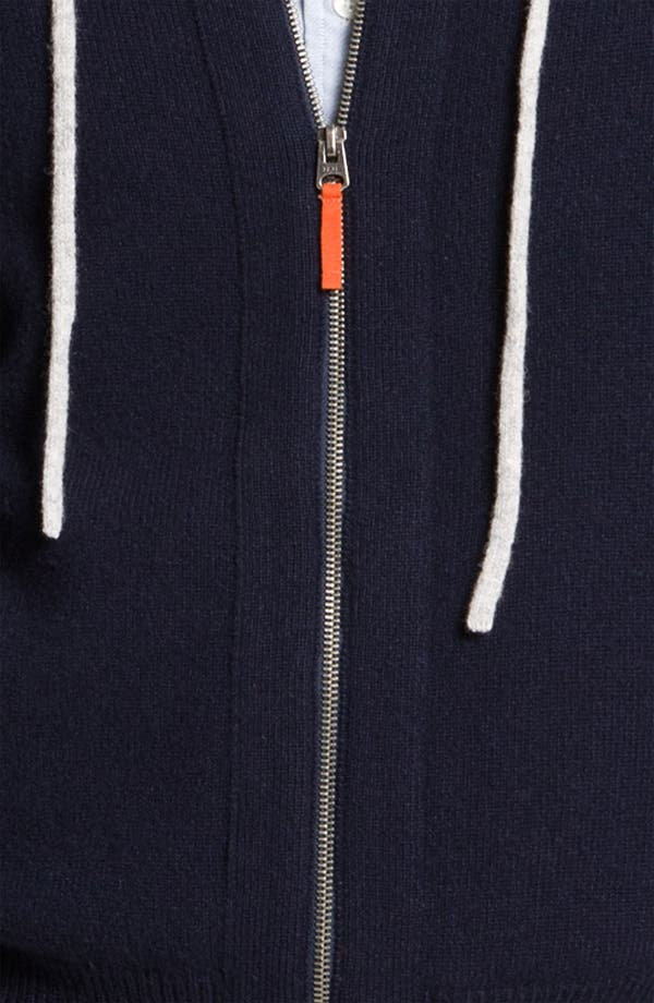 Alternate Image 3  - Brooks Brothers Lambswool Hoodie