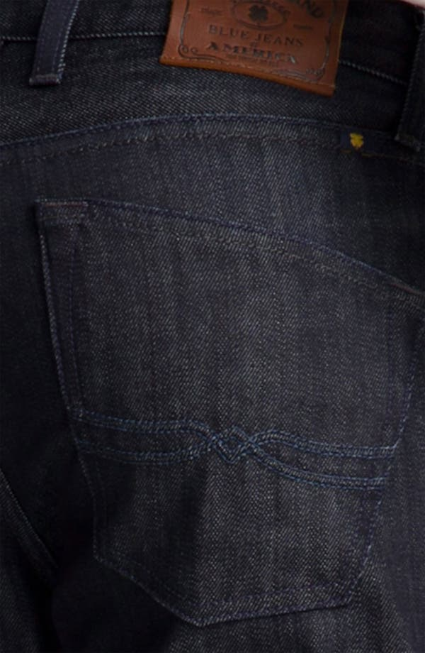 Alternate Image 4  - Lucky Brand '221 Original' Straight Leg Jeans (Dark Hickory)
