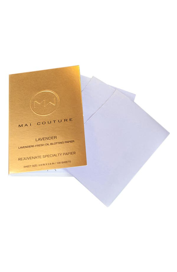 Alternate Image 1 Selected - Mai Couture 'Lavender Re-Fresh' Oil Blotting Papier Refill