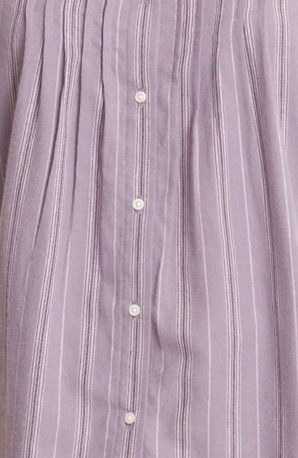 Alternate Image 3  - Lauren Ralph Lauren Sleepwear Brushed Twill Pajamas