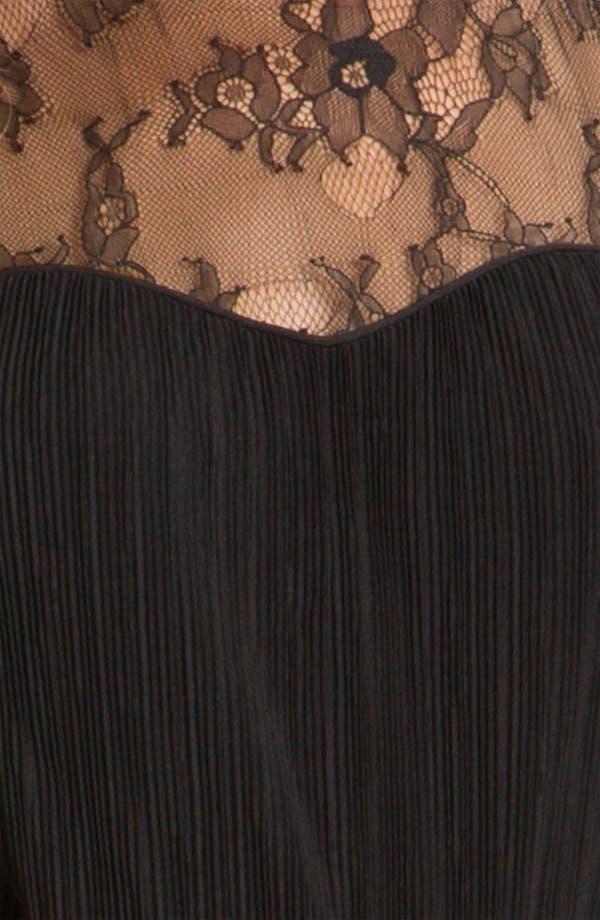 Alternate Image 3  - Jessica Simpson Lace Yoke Tiered Chiffon Dress