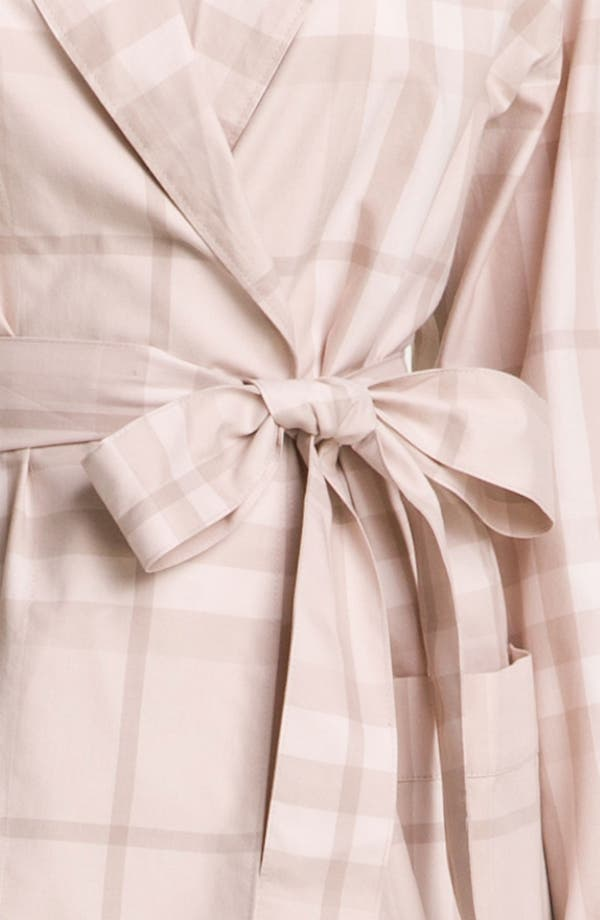 Alternate Image 3  - Burberry Check Robe
