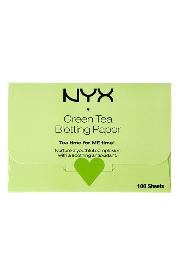 Alternate Image 1 Selected - NYX 'Green Tea' Blotting Paper