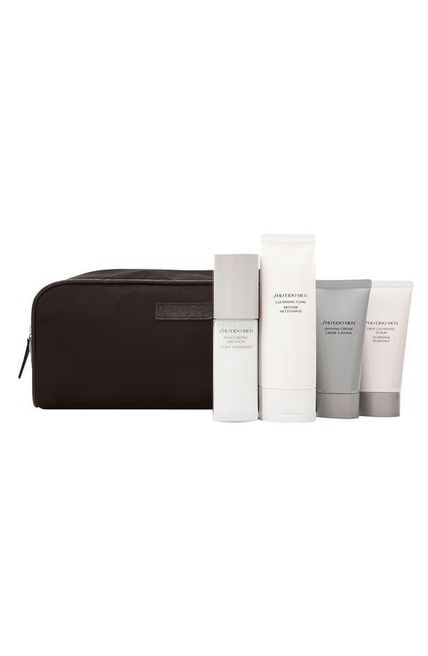 Alternate Image 1 Selected - Shiseido Men 'Shave & Scrub' Set ($79.50 Value)