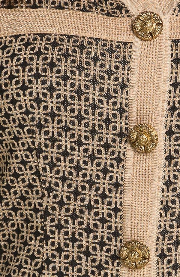 Alternate Image 3  - Exclusively Misook Tweed Knit Jacket (Plus)