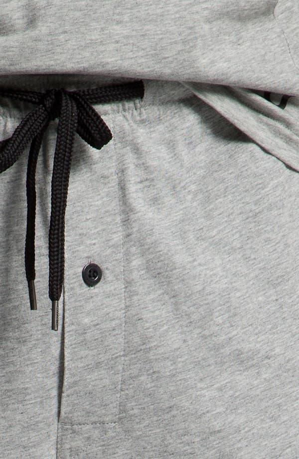 Alternate Image 3  - BOSS Black Pajama Set (Online Exclusive)