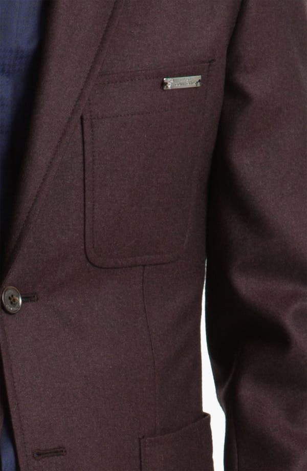 Alternate Image 3  - Versace Trim Fit Wool Blazer