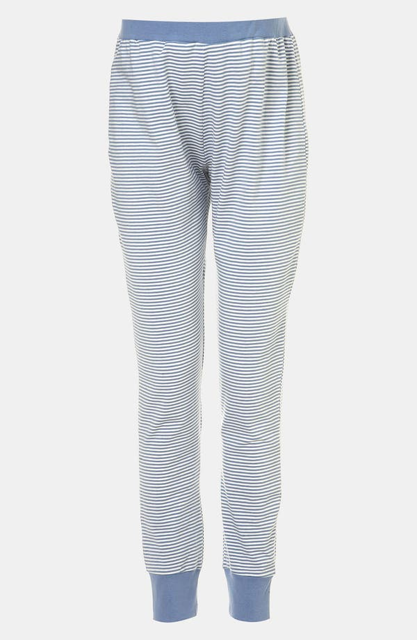 Alternate Image 1 Selected - Topshop Stripe Maternity Pajama Pants
